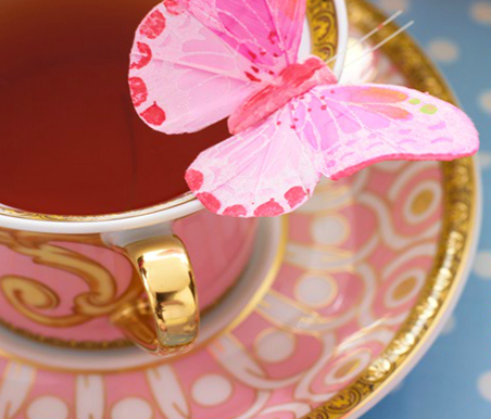 It's tea time for you and your special someone.
