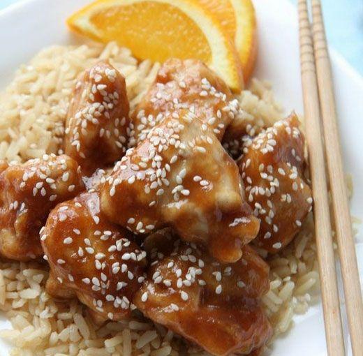 Gluten free orange chicken recipe healthy stir fry chinese food gluten free orange chicken recipe healthy stir fry chinese food recipes and orange chicken forumfinder Gallery