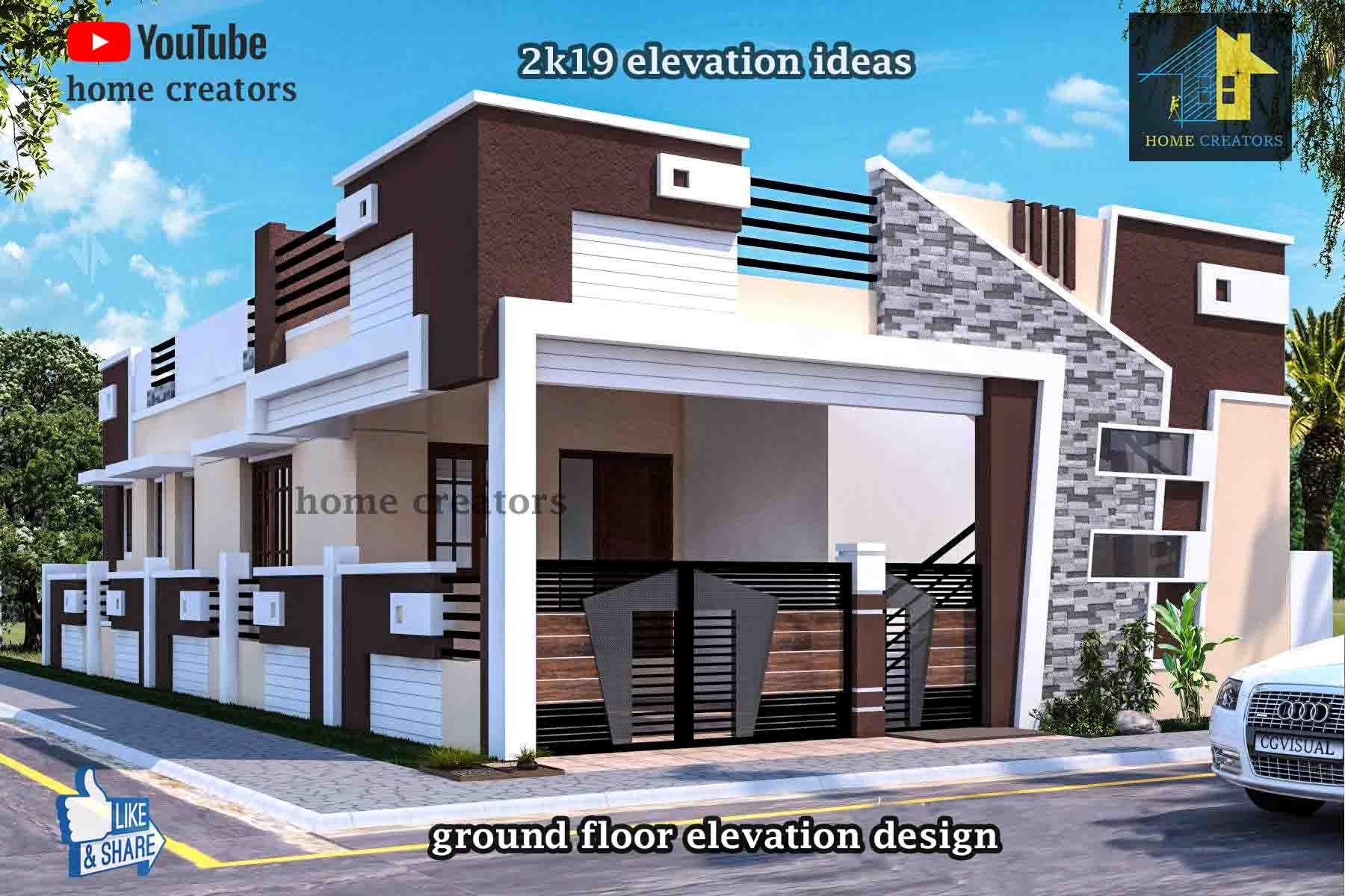 beautiful small house front elevation design ground floor ideas also ryan shed plans and designs for easy building rh pinterest