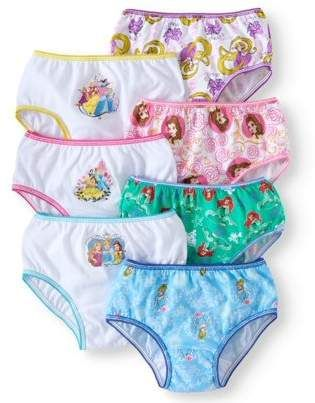 Disney Princess Forever Princess Girls 6 PK Knickers Briefs