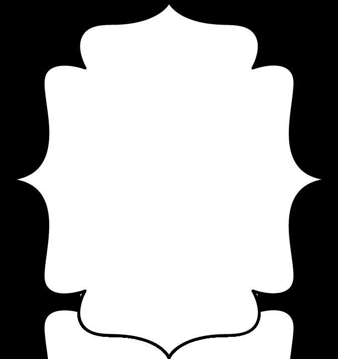 Black And White Borders And Frames Bracket Frame Full