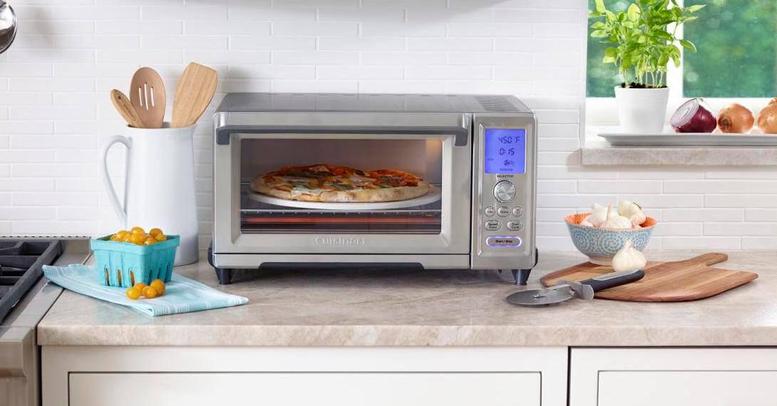Cuisinart Chef S Convection Toaster Oven With Broiler Reviews Crate And Barrel Convection Toaster Oven Toaster Oven Convection Oven