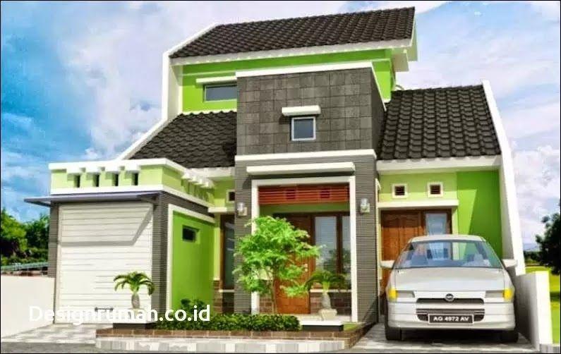 Desain Rumah Minimalis 2 Lantai Bagian Belakang