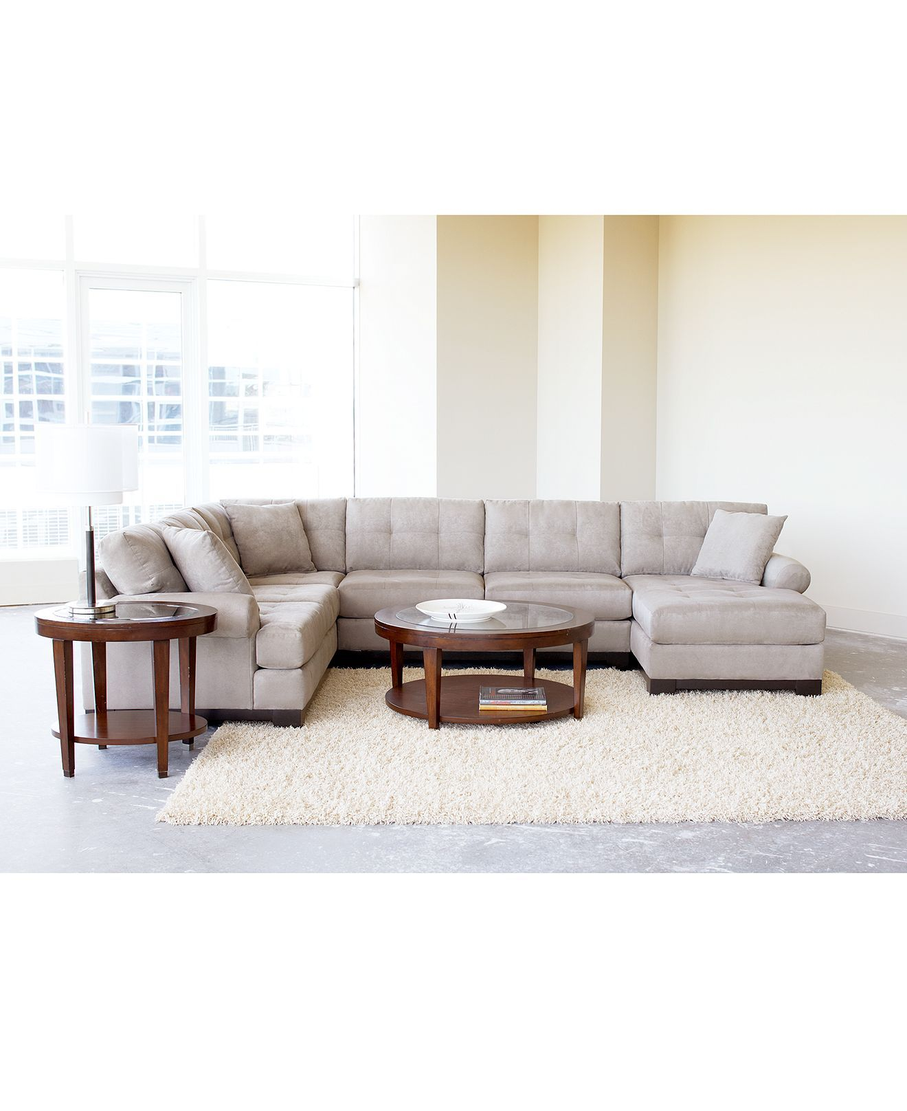 Evan Living Room Furniture Sets & Pieces - Sectionals - furniture ...