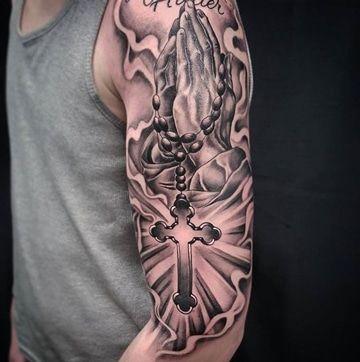 La Devocion Y Los Tatuajes De Rosarios En El Brazo Tal Vez