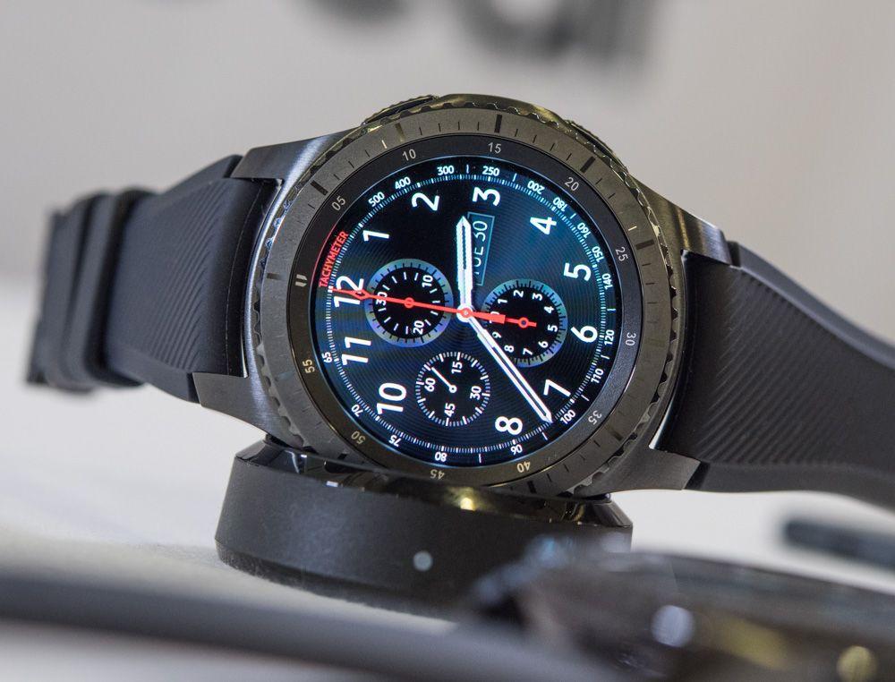 Samsung Gear S3 Frontier & Classic Smartwatch HandsOn
