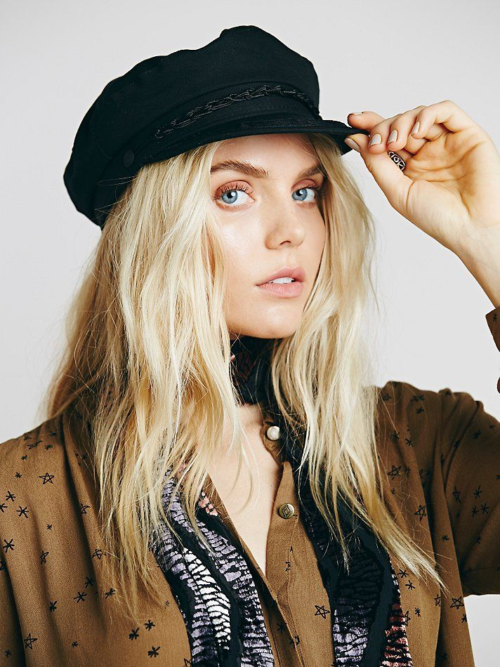 13b578be01d  48 Aegean Off Duty Lieutenant Hat at Free People Clothing Boutique Fiddler  Hat