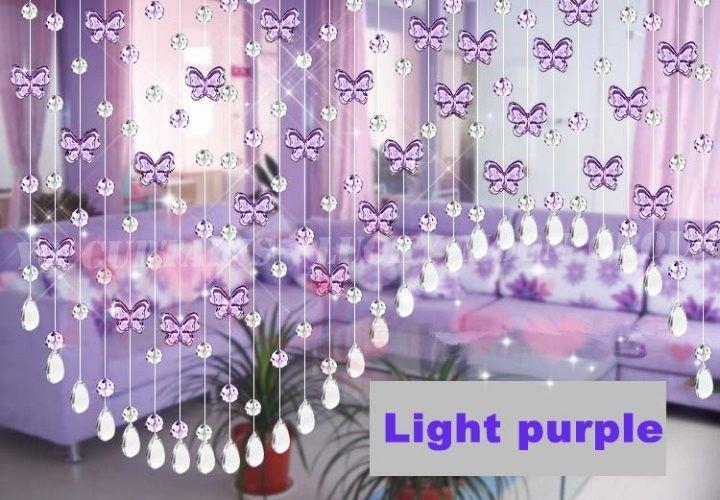 Decora es com mi angas pesquisa google criativas - Purple beaded door curtains ...