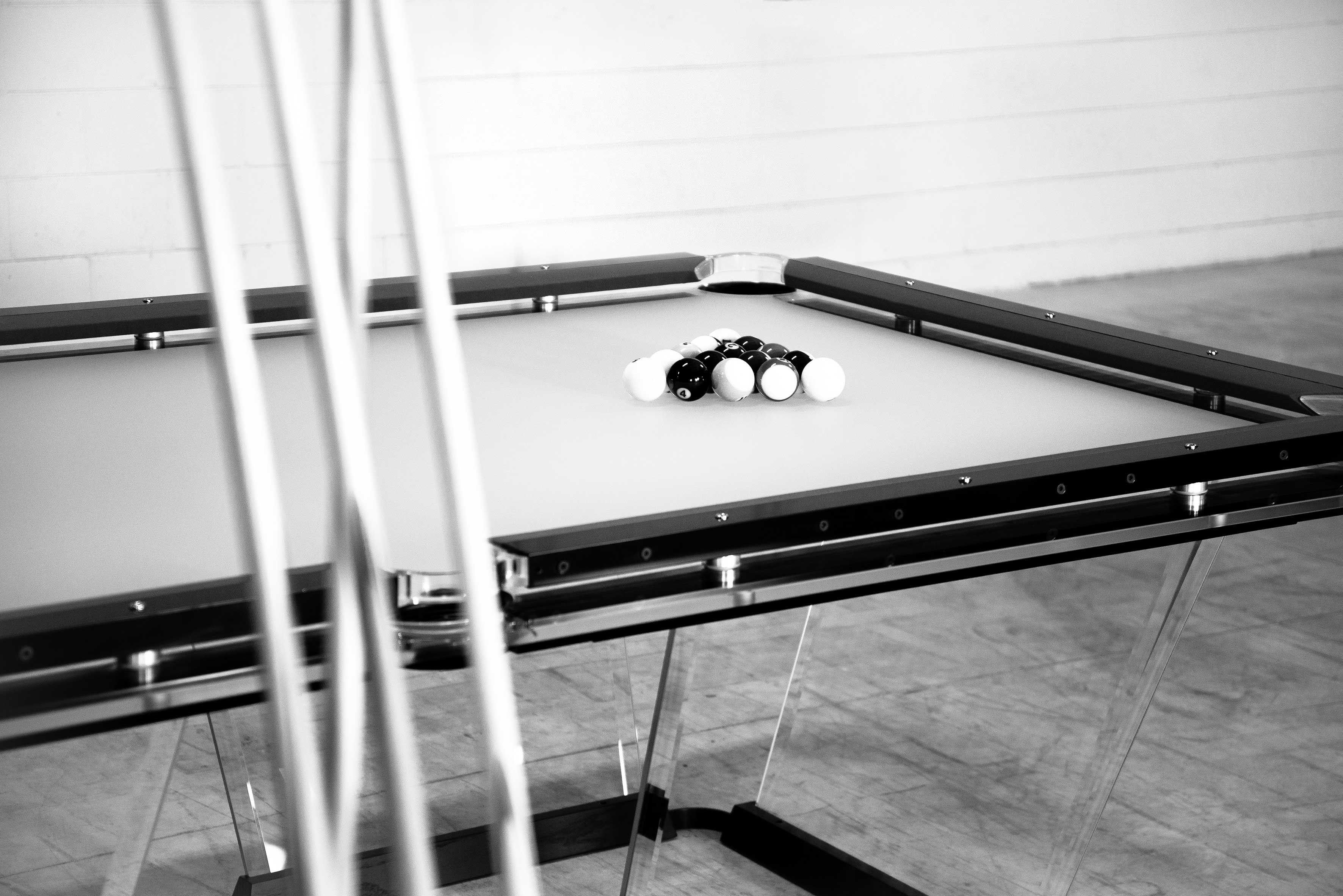 Teckell Pool Table in 2020 Pool table, Infinity table