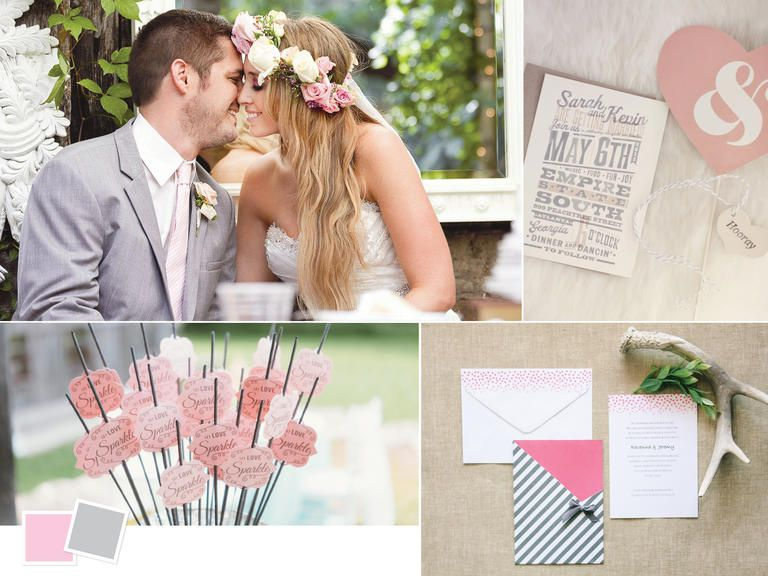 Classic Wedding Color Palettes We Love | Classic weddings, Gray ...