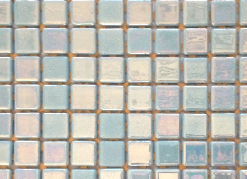 Mosaïque émaux De Verre Bleu Azur Nacré Par Plaque De Cm - Plaque mosaique salle de bain