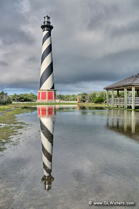 Cape Hatteras Lighthouse, Outer Banks, NC - ©Dan Waters  http://dlwaters.photoshelter.com/gallery-image/Outer-Banks-lighthouses/G0000lsbvtDSUnWo/I0000aTmU0cqxuXo