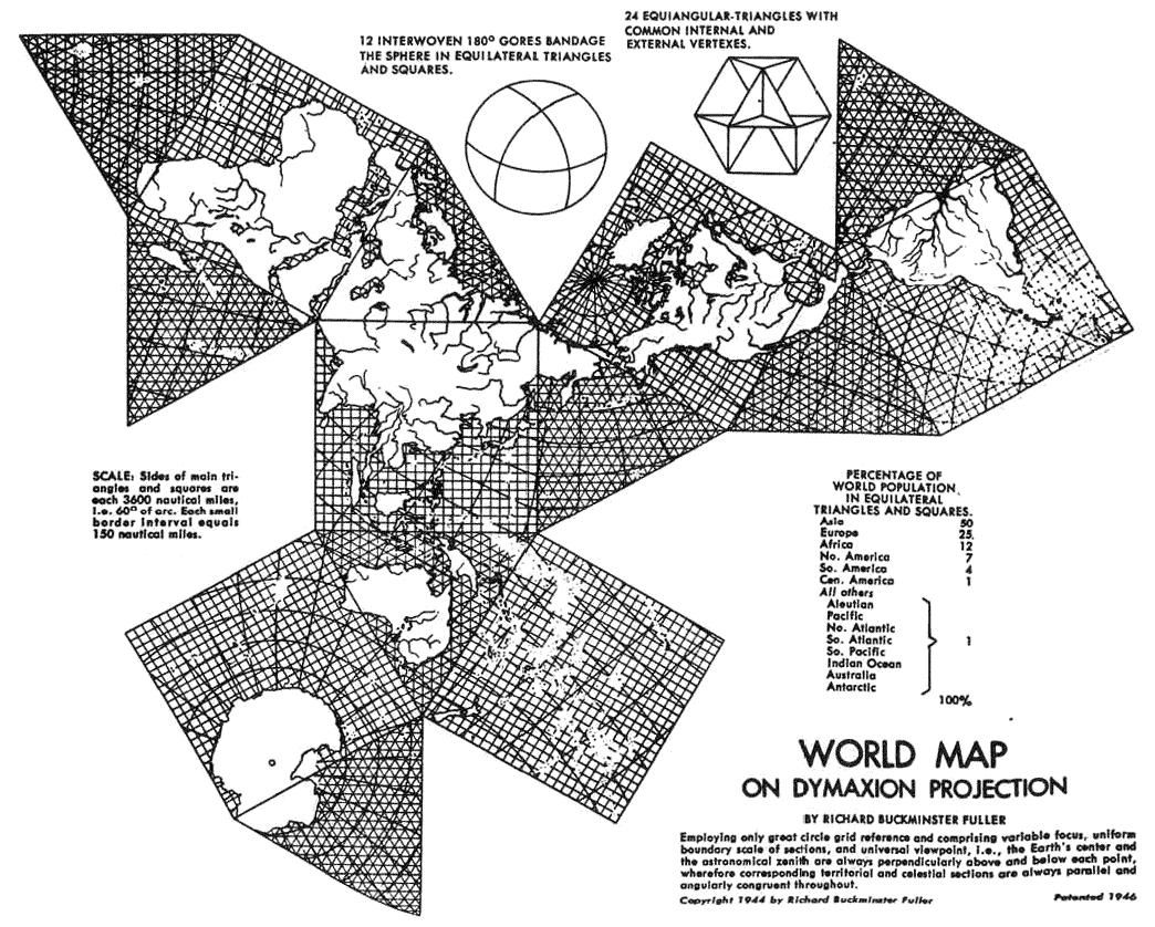 The 1944 edition of fullers air ocean world map which displayed the 1944 edition of fullers air ocean world map which displayed for the first time on gumiabroncs Image collections