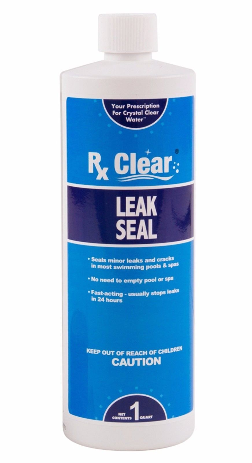 Pool Chemicals And Clarifiers 181058 Rx Clear Swimming Pool Leak