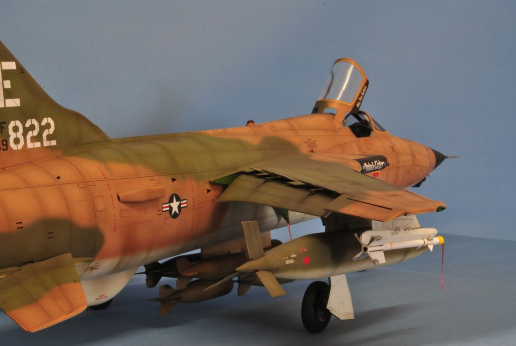 Trumpeter 1 32 F 105d Thunderchief By Nickparker