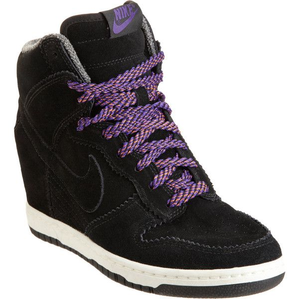 Nike Dunk Sky High Wedge. Worn by Black Widow   Natasha Romanoff   Scarlett  Johansson in Captain America  The Winter Soldier. Running in wedges is much  ... e8d09d7fa
