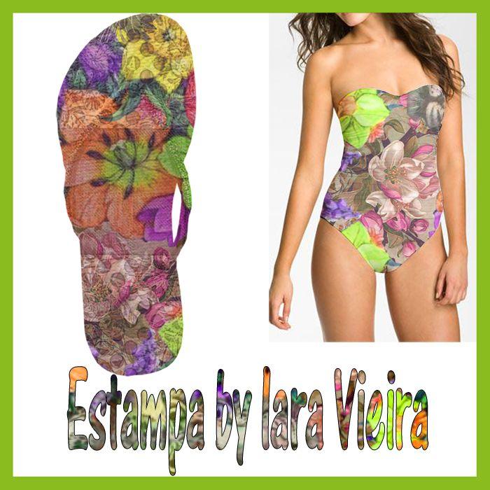 Estampa by Iara Vieira