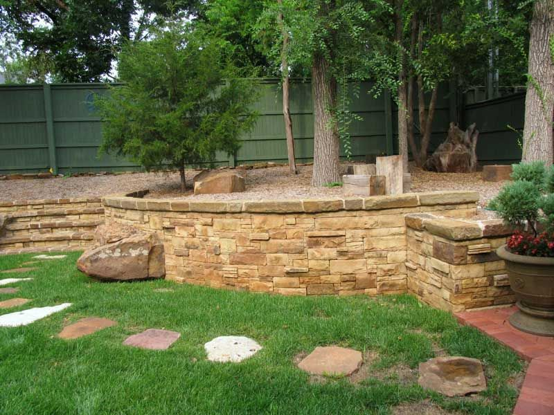 Picture 427 Jpg 800 600 Landscaping With Rocks Retaining Wall Building Stone