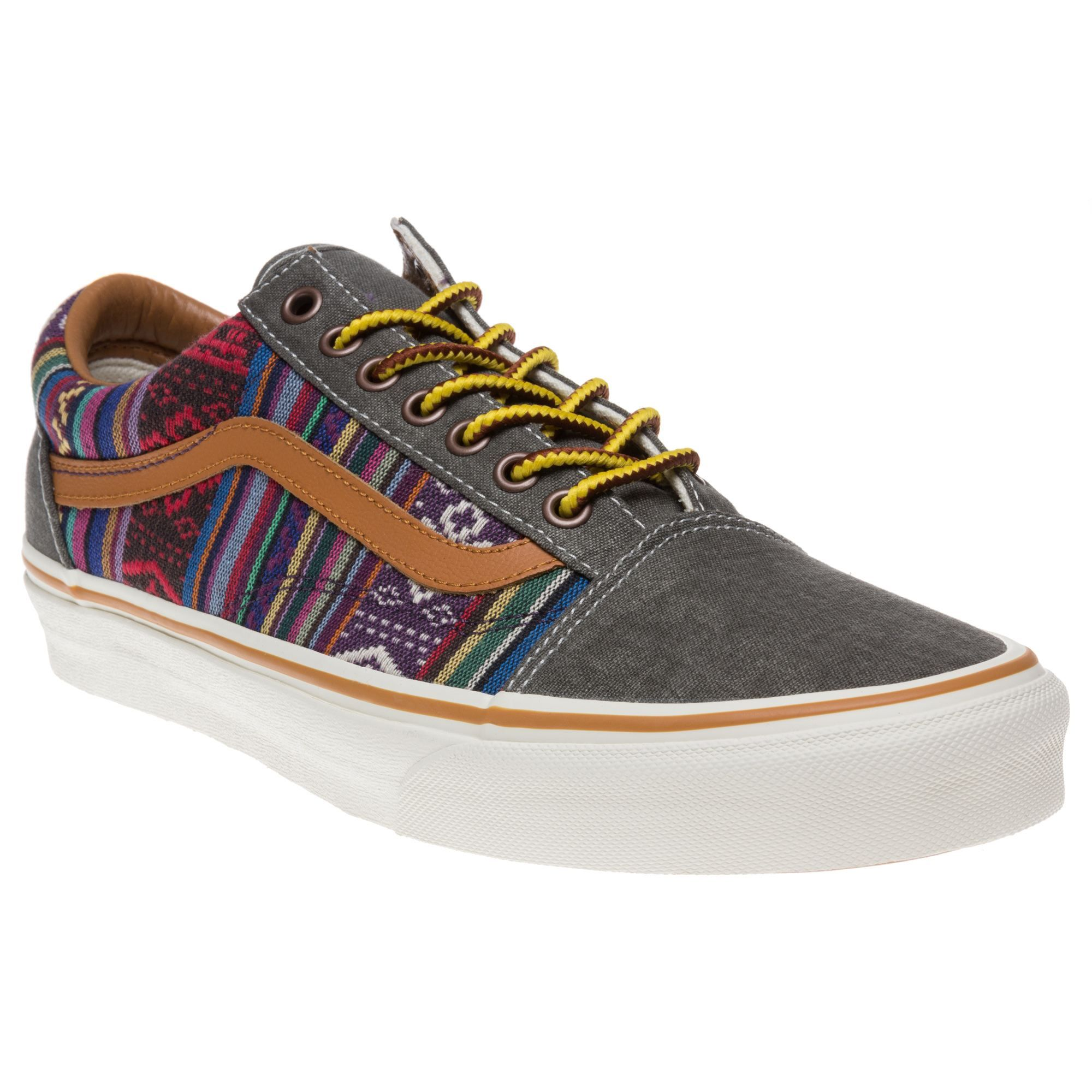 8ecf4985e9 Vans Old Skool Trainers in aztec colourful print.