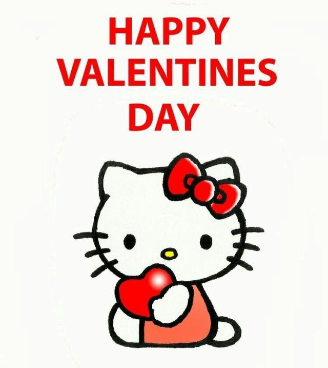 Happy Valentine S Day Hello Kitty I Hello Kitty Hello Kitty