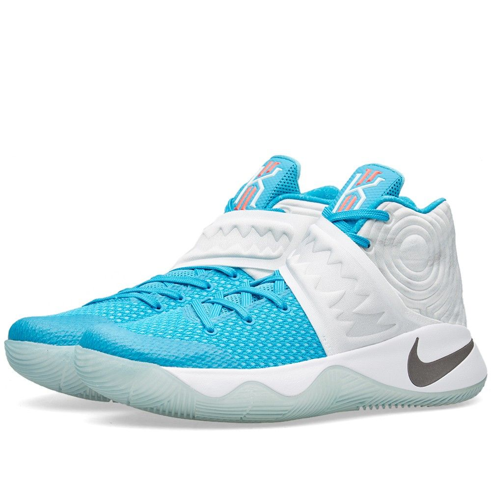 new concept 81617 89d95 Nike Kyrie 2  Christmas  (White, Obsidian   Blue Lagoon)