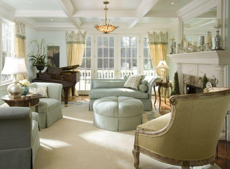 salon d co style victorien moderne en 48 id es pi ce a vivre pinterest design living room. Black Bedroom Furniture Sets. Home Design Ideas