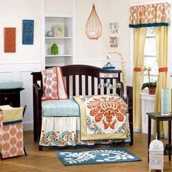 Orange Bedding Comforter Sheets And Duvet Cover Sets Crib Bedding Sets Baby Crib Bedding Sets Crib Sets