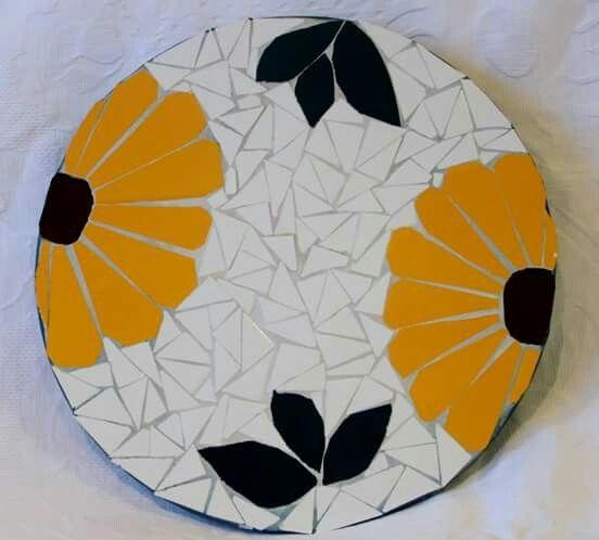 Prato giratório Mosaico