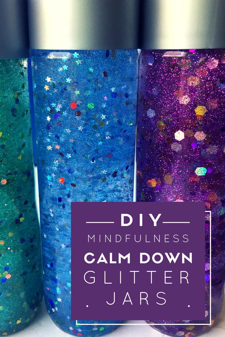 How to Make a Mindfulness Glitter Calm Down Jar