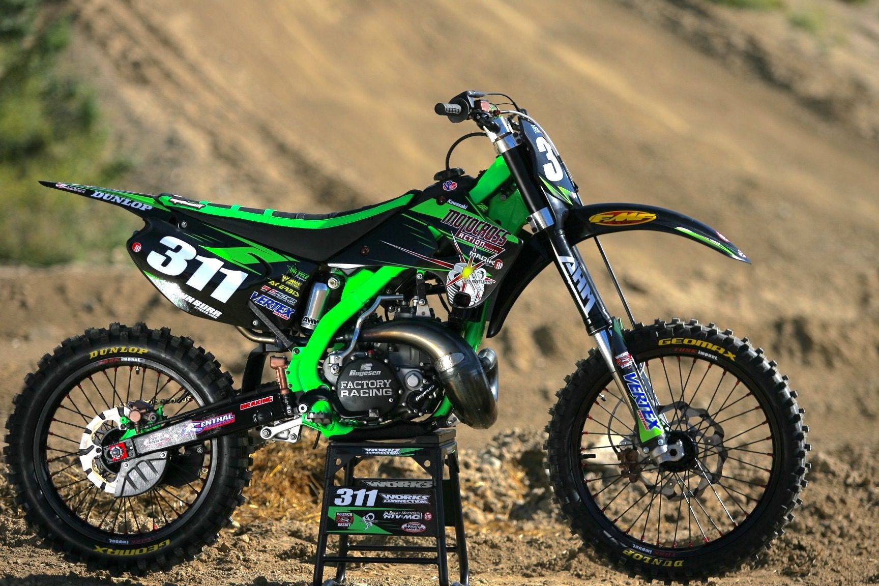 kawasaki kx125 dirt bikes pinterest. Black Bedroom Furniture Sets. Home Design Ideas