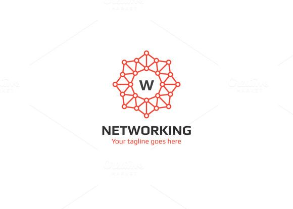 Networking Logo by XpertgraphicD on @creativemark