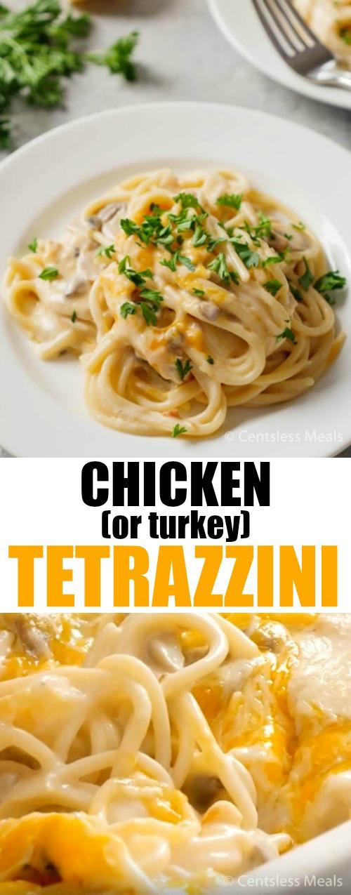Chicken Tetrazzini (or turkey)