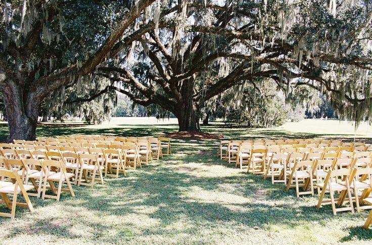 ... Among Spanish Moss, The Ford Plantation, GA #wedding #ceremony