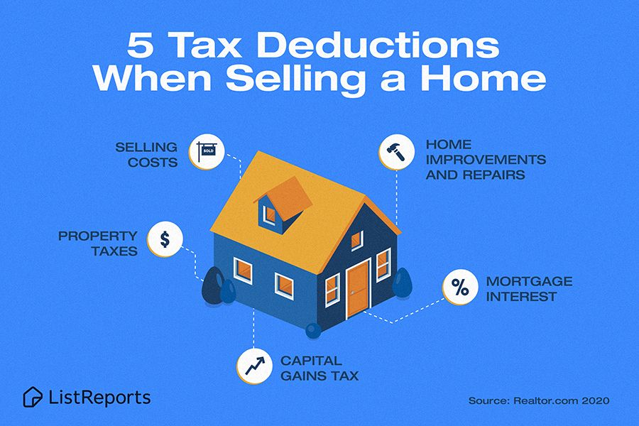 Red Door Realty In 2020 Selling House Tax Deductions Selling Your House