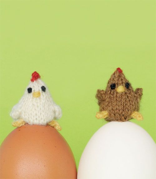 Hens and Chicks to Knit for Spring – 26 free patterns ...