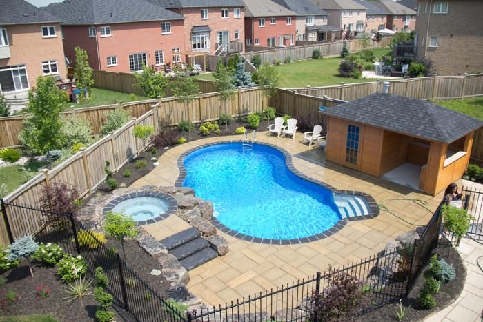 Backyard getaways custom swimming pools backyards for Pool show toronto