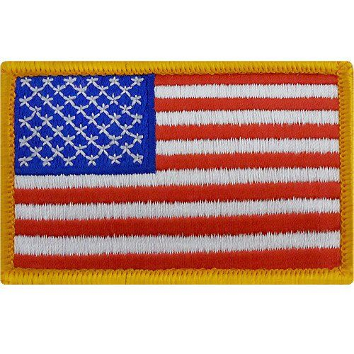 Full Color U S Flag Patch Forward Flag Patches American Flag Patch Flag