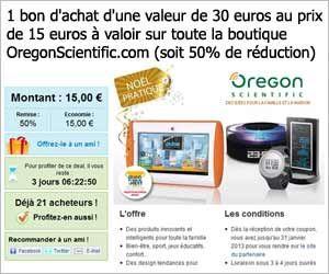 Vente Groupee 1 Bon D Achat Oregon Scientific D Un Montant De 30