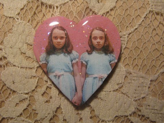 Transaction Etsy - The Shining Twins Brooch ($1-20) - Svpply