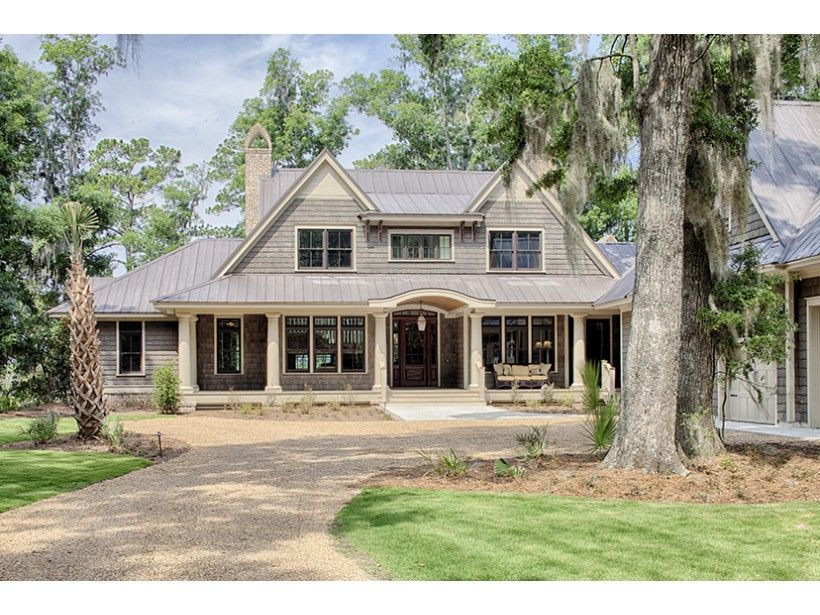 Country Style House Plan 4 Beds 4 5 Baths 4852 Sq Ft Plan 928 1 Country Style House Plans Shingle House Plans Victorian House Plans