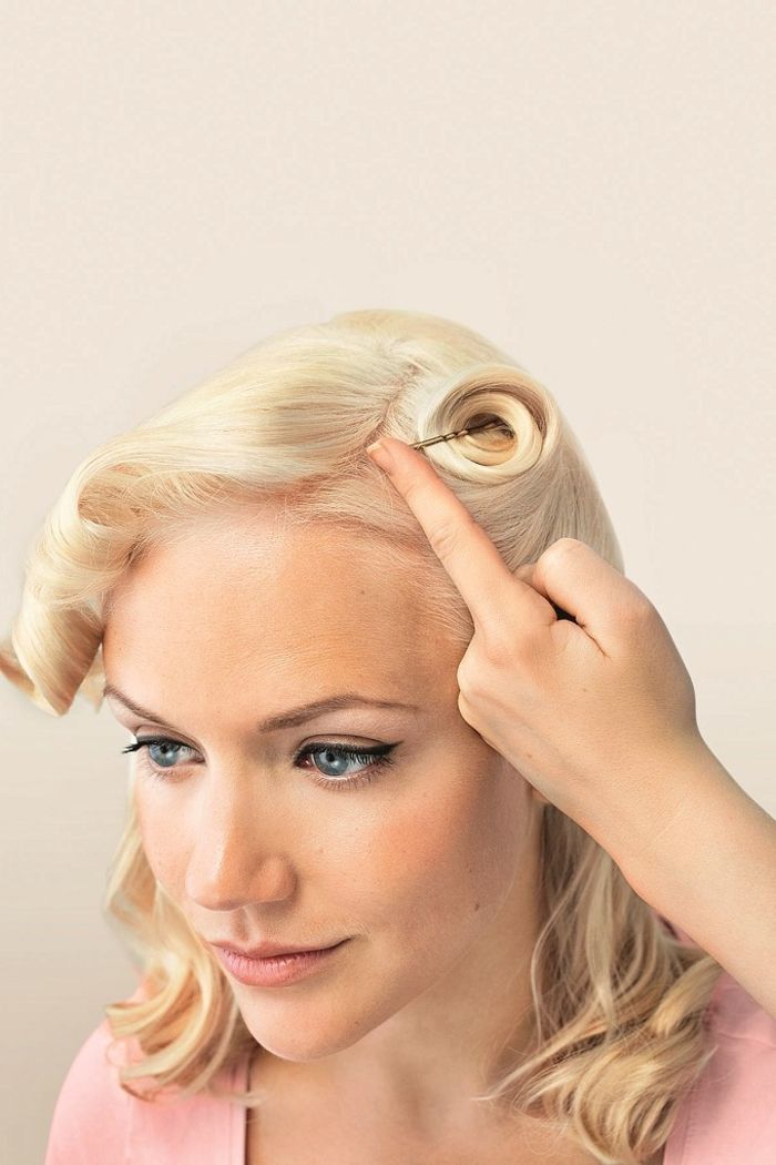 1001 id es pour une coiffure ann e 50 remise au go t du jour coiffures pinterest. Black Bedroom Furniture Sets. Home Design Ideas