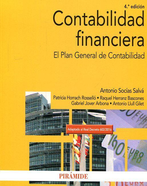 Contabilidad financiera : el Plan General de Contabilidad\