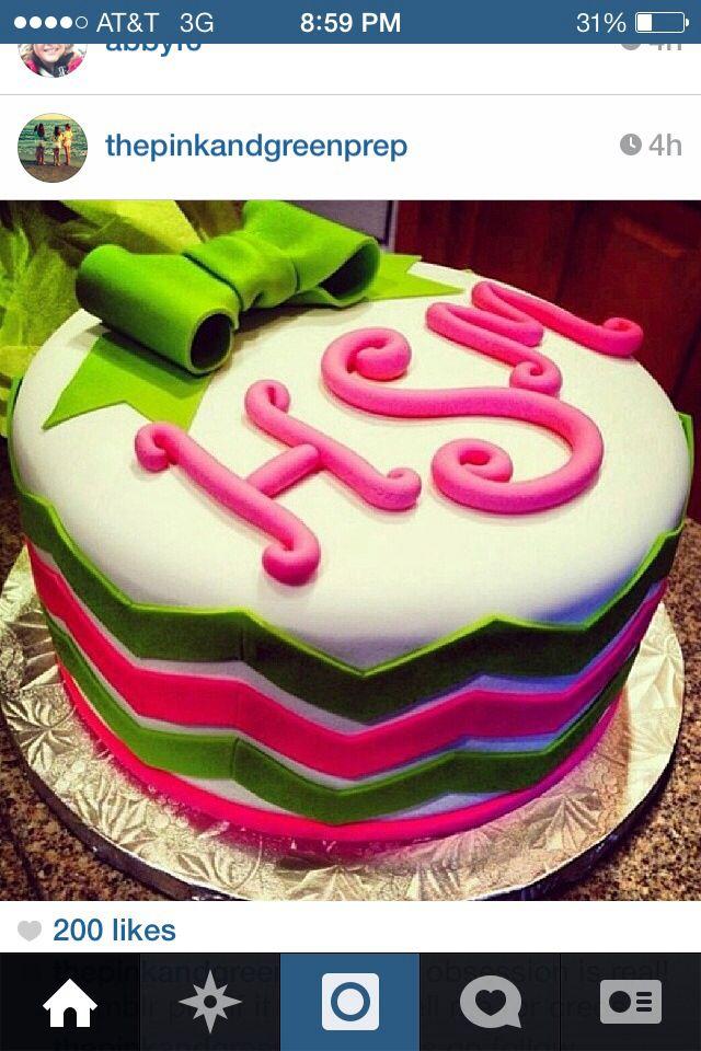 Love this Chevron cake!!!!