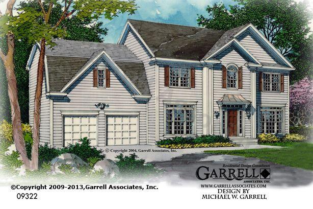 Pennbrooke House Plan 09322 Garrell Associates Inc House Plans House Floor Plans