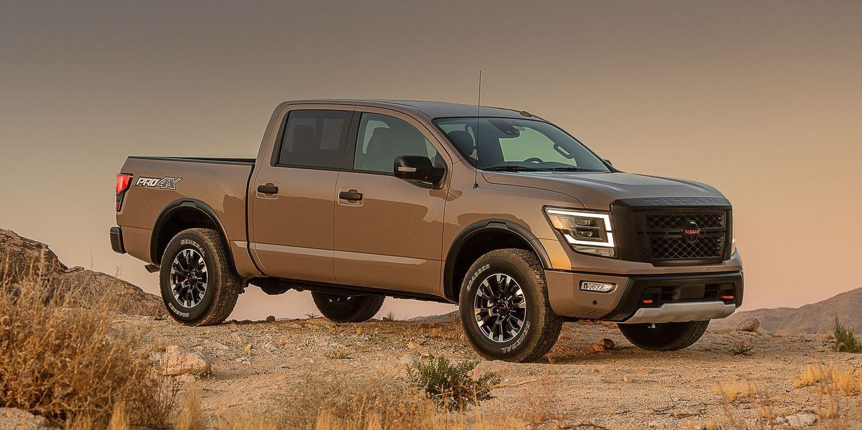 2020 Nissan Titan Makeover Adds Sharper Looks More Muscle Nissan Titan Nissan New Pickup Trucks