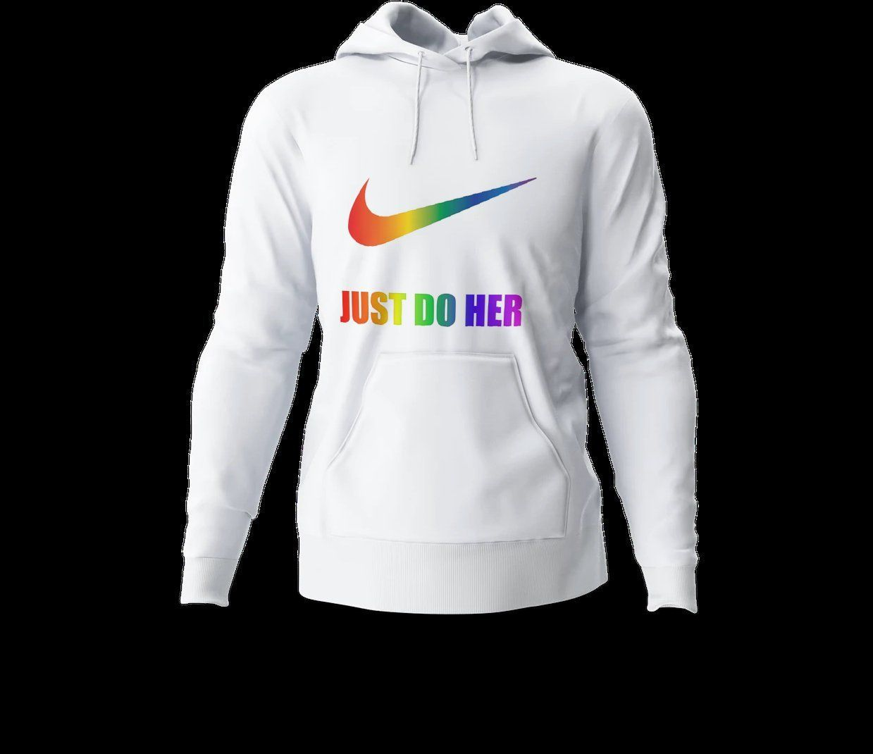 cd0db397 Nike inspired Rainbow Just Do funny LGBTQ sweat shirt gift for her lesbians  will love gay pride shirt by customeit on Etsy