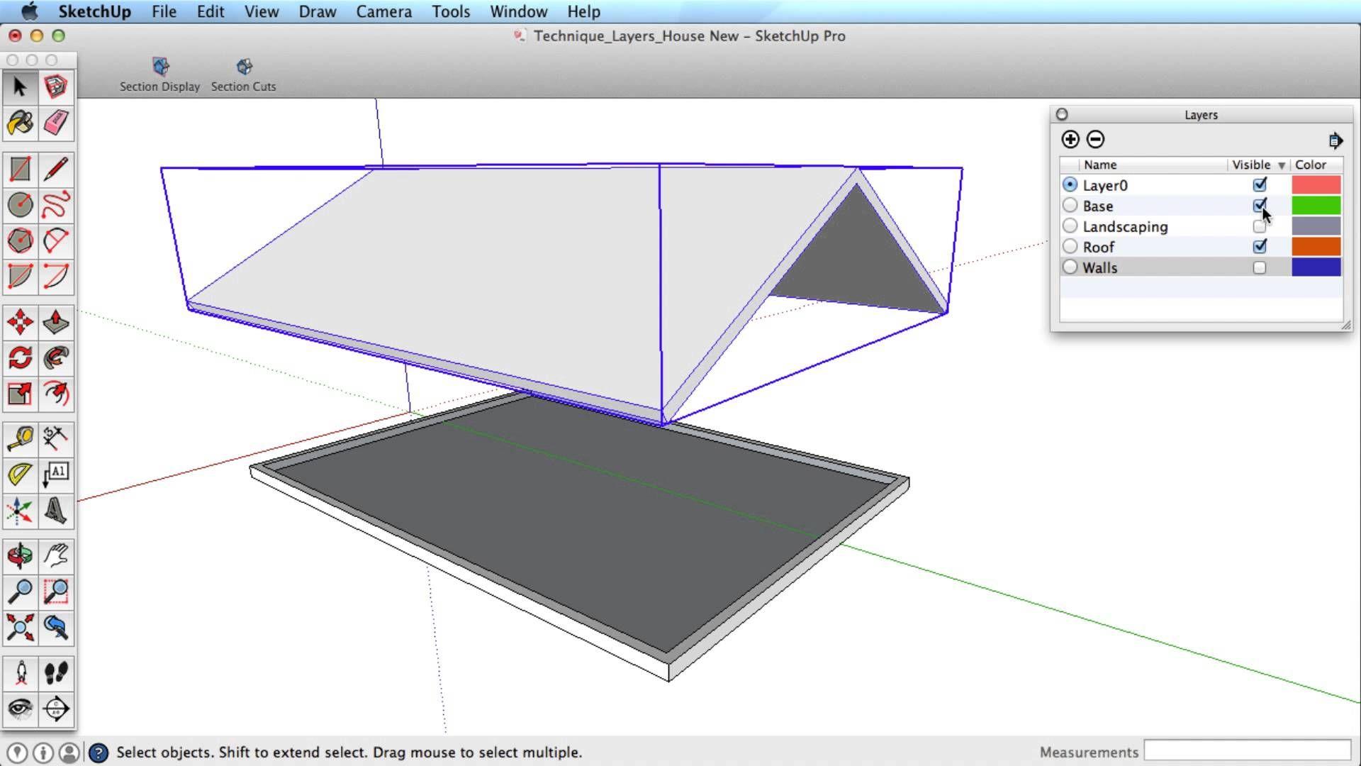 Sketchup Training Series Layers
