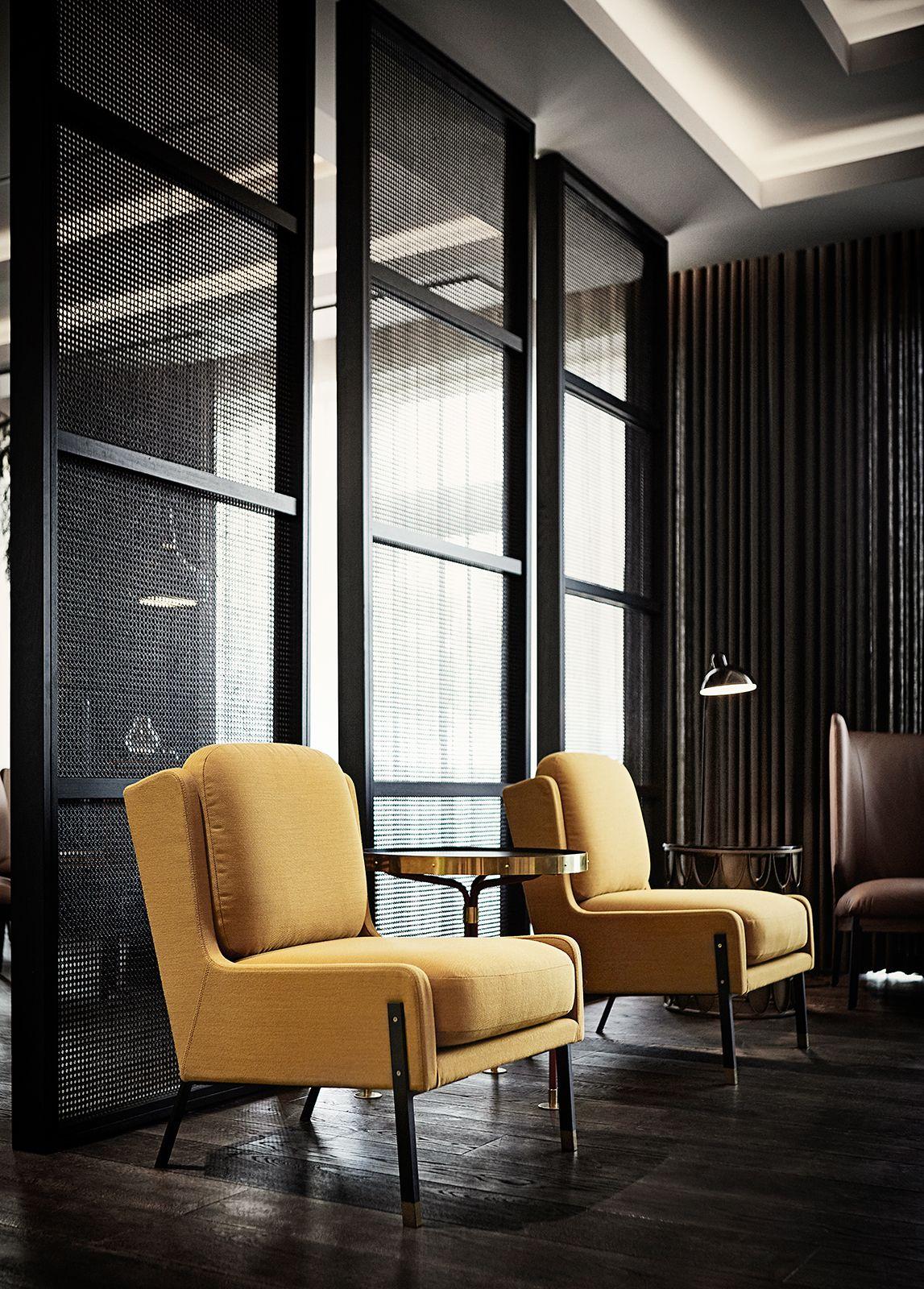 Hotel Rooms Interior Design: MARRIOTT COPENHAGEN - Executive Lounge