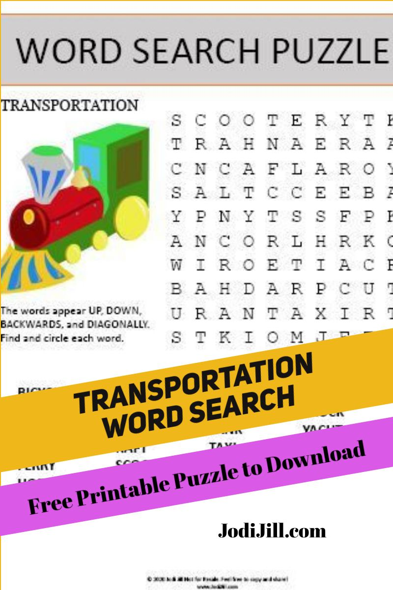 Pin on Free Printable Puzzles