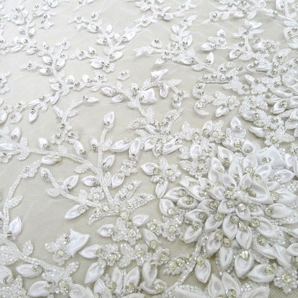 Checking the Wedding Dress Fabric Quality: unique lace wedding ...